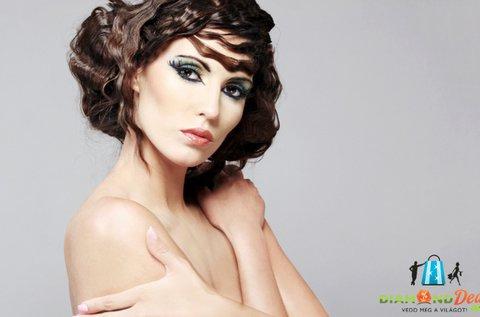 Női hajvágás keratinos kezeléssel, minden hosszra
