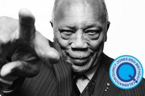 Belépő Quincy Jones 85 koncertjére