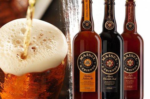 Maisel & Friends búza és barna sörök
