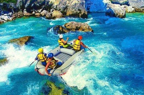 Rafting hétvége Boszniában teljes ellátással