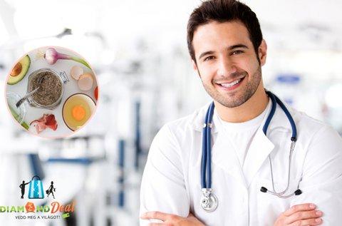 Ételintolerancia és allergia vizsgálat + Candida-teszt