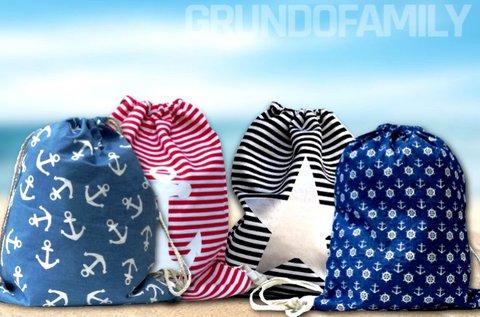 Divatos Rimini hátizsák 10 féle választható mintával