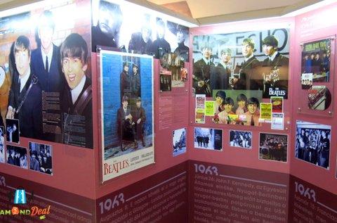 Belépő 2 fő részére az Egri Road Beatles Múzeumba
