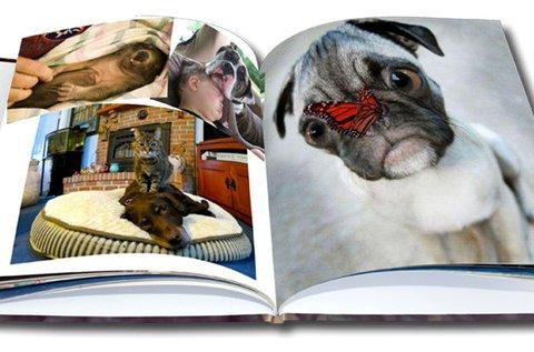 88 oldalas, A5-ös fotókönyv kemény borítóval