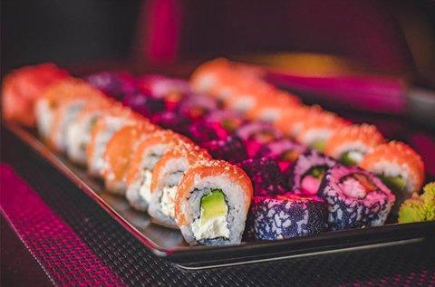 30 db-os sushi válogatás bőségtál makival, nigirivel