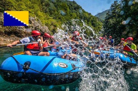 Rafting vagy jeep safari túra Boszniában