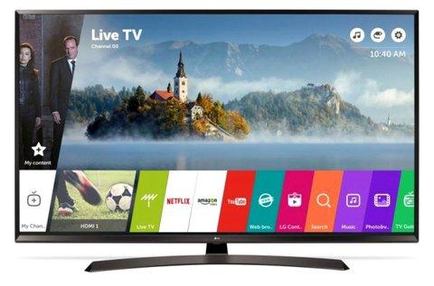 LG 108 cm-es UHD Smart LED televízió