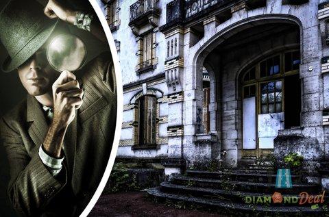 Rejtélyek Városa szabadtéri nyomozós játék 2 főnek