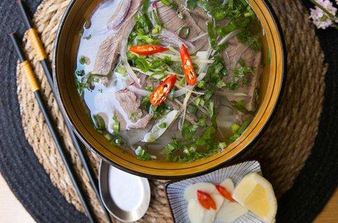 3 fogásos vietnámi saigon combo menü 1 fő részére