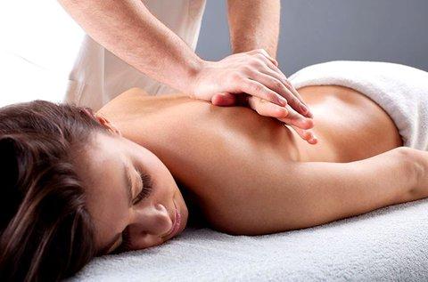 60 perces választható masszázs kezelés