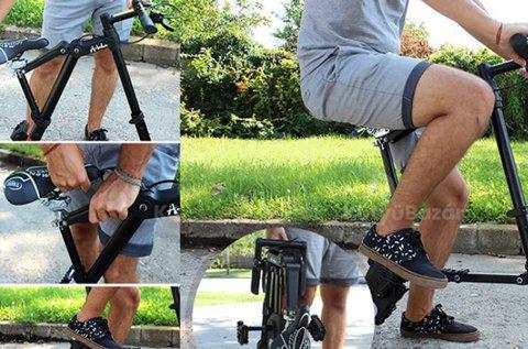 Összecsukható bicikli teleszkópos kivitelben