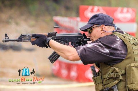 60 lövéses élménylövészet 3 nagy kaliberű fegyverrel