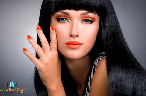 Komplett női hajvágás + manikűr és pedikűr