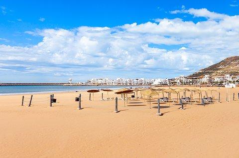 1 hetes tengerparti nyaralás Marokkóban repülővel