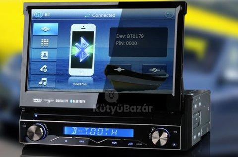 HD érintőkijelzős autós multimédiás fejegység