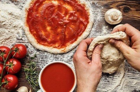 Olasz pizzakészítő kurzus online anyaggal