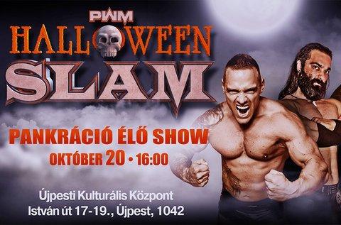 Belépőjegy a Halloween Slam pankráció show-ra