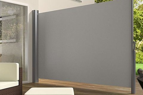 Kihúzható térelválasztó vagy árnyékoló fal