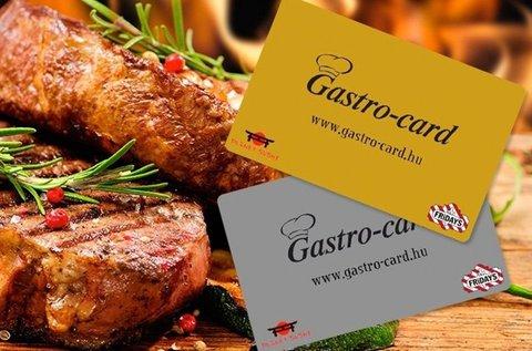 6 hónapos Gastro ezüst kártya 2 főnek