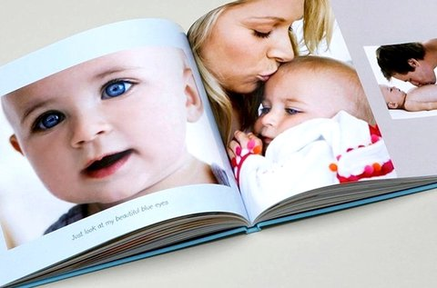 50 oldalas keménytáblás fotókönyv A4-es méretben