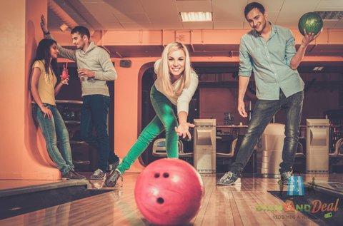 2 órás bowlingozás max. 6 fő részére