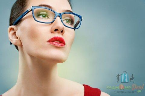 Szemüvegkészítés, vékonyított Hoya lencsével