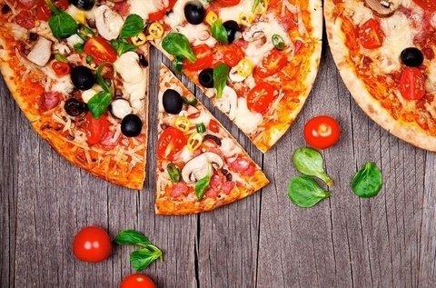 Választható 2 db 32 cm-es nagy pizza