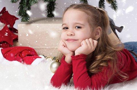 1 órás karácsonyi fotózás