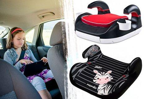 Caretero és Nania autós ülésmagasítók gyerekeknek