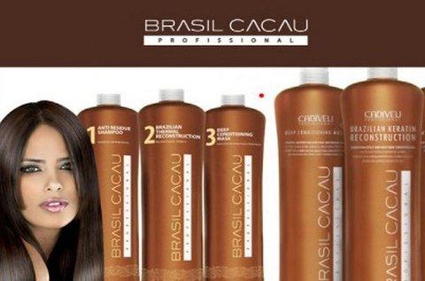 Brazil Cacau tartós hajegyenesítés