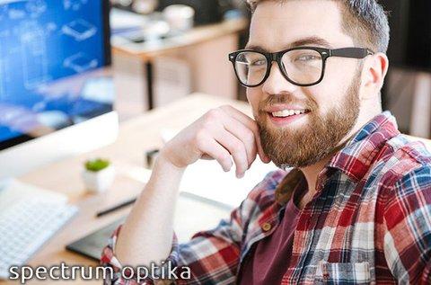 Monitorszűrős komplett szemüveg kerettel