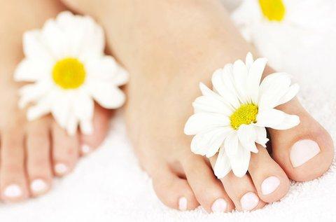 Gyógypedikűr hölgyeknek az ápolt lábakért