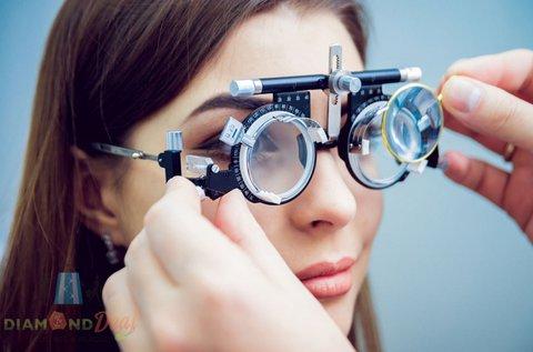 Vékonyított lencsés szemüveg készítése