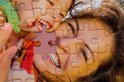 A3-as, 252 db-os puzzle saját fotóval, díszdobozban