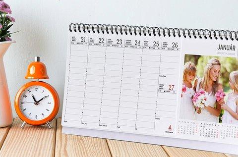 Egyedi fali-, asztali naptár vagy határidőnapló