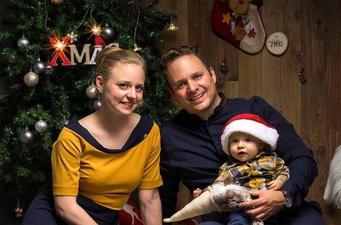 Karácsonyi fotózás 150-200 db fotóval