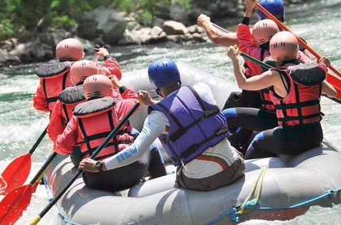2 napos rafting Zakopane közelében, a Bialka folyón