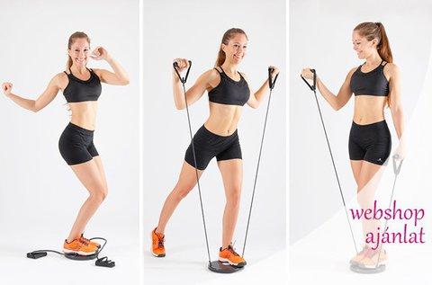 Cardio Twister otthoni edzőgép füzettel