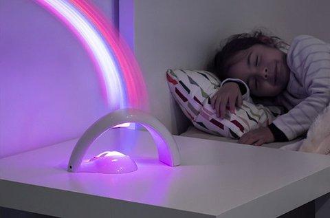 Szivárvány projektor 2 féle üzemmóddal