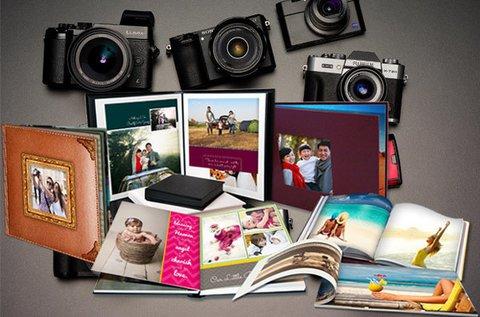 88 oldalas A5-ös méretű fotókönyv készítése