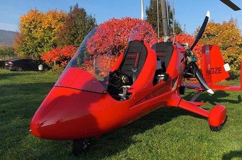 15 perces élményrepülés minihelikopterrel