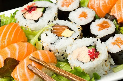 Sushi combo menü 1 főnek