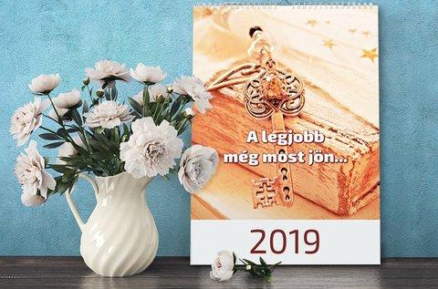 2019-es motivációs naptár pozitív gondolatokkal