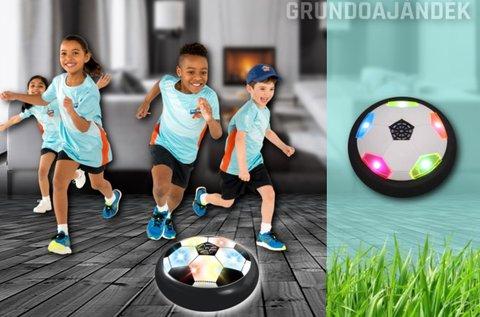 5 különböző színben világító Air Soccer légfoci
