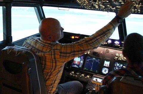 Városnéző Boeing 737 szimulátor vezetés