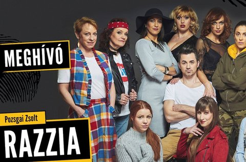 Belépő Pozsgai Zsolt Razzia című krimikomédiájára