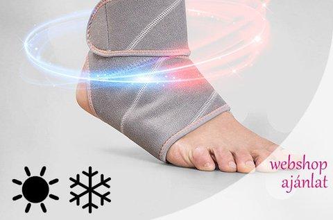 Hold & Cold gél bokavédő ergonomikus kialakítással