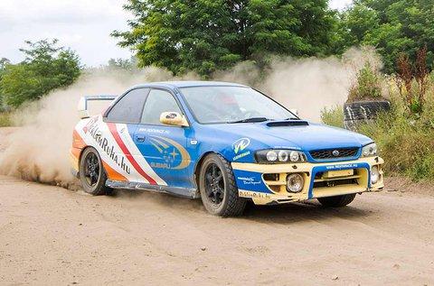 Száguldj Subaru Impreza WRX rally versenyautóval!