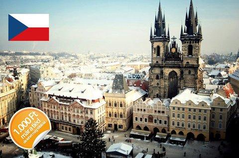 4 csillagos pihenés és városnézés Prágában