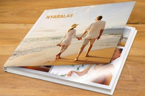 30 oldalas fotókönyv készítés fényes fotópapírból